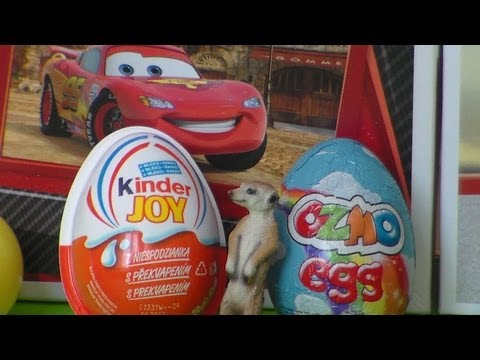 6 x Surprise . kinder joy . ozmo egg  .4 surprise ball . cool toys. jajko niespodzianka kinder .