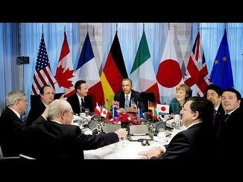 Russia cold shouldered by G7 nations over annexation of Crimea