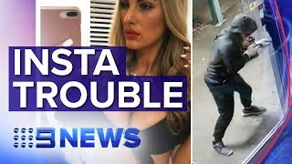 Instagram model charged over Sydney robberies | Nine News Australia