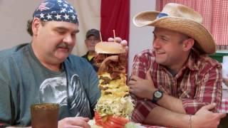 'MURICA Sized Burgers From Across America (Vegans BEWARE)