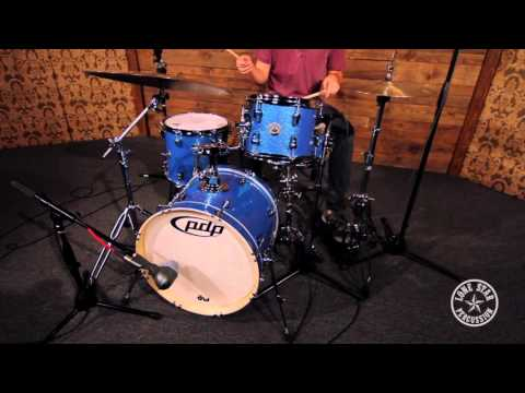 """PDP New Yorker 4 Piece 18"""" Bass, 10/13"""" Toms, 13"""" Snare"""