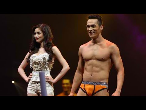 Jake Cuenca at the Bench Universe Fashion Show