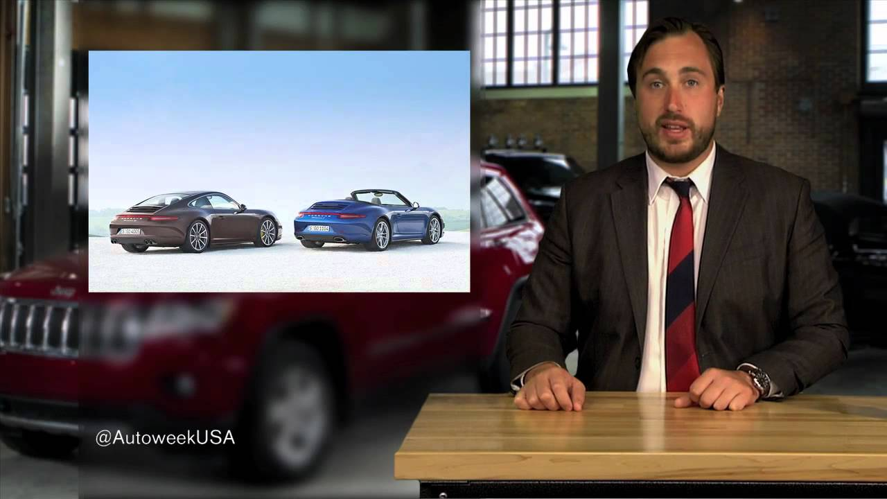 2013 Porsche Carrera 4 to be revealed at Paris motor show - Autoweek TV with Rory Carroll