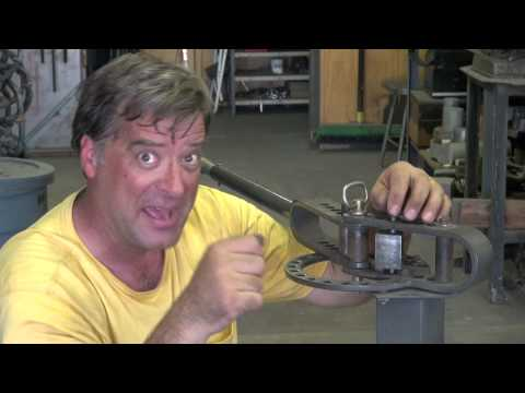 How to Use a Chinese Pipe Bender. Step-by-Step - Kevin Caron