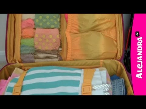 How to Pack a Suitcase for Organized Travel