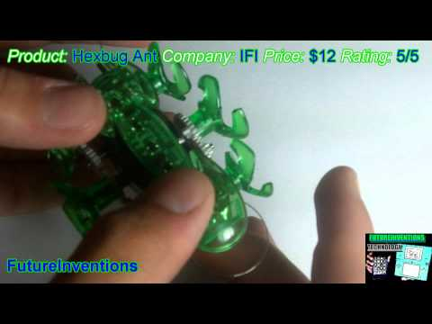 Hexbug Ant Robot Review