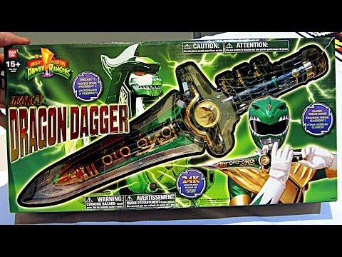 Power Rangers Legacy Dragon Dagger Review! (Unboxing)