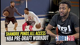 The Most UNDERRATED Guard In 2019 NBA Draft!? Shamorie Ponds NBA Pre-Draft All Access!!