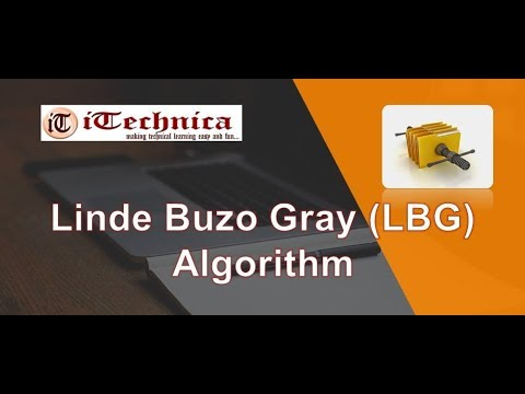 45. Linde Buzo Gray (LBG) algorithm step by step with example