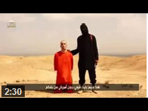 Video ISIS kill American journalist James Foley - FULL HD