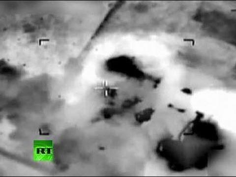 IDF aerial video: Israel airstrike hits Hamas compound in Gaza