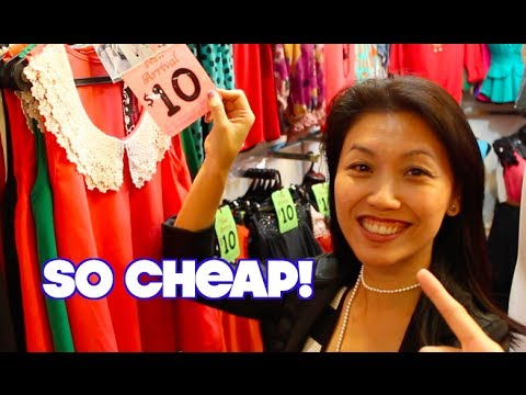 Its Cheaper to Shop at Bugis Street!