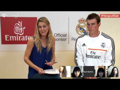 [FULL] Google+ Hangout with Gareth Bale