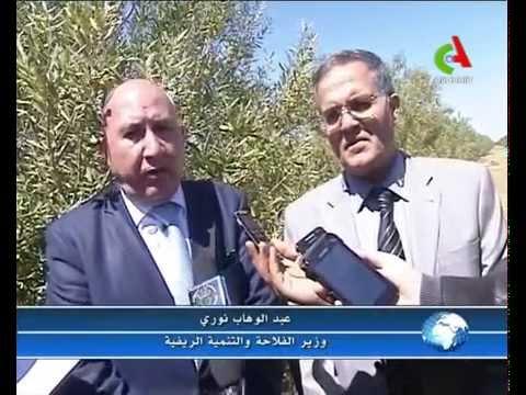 Suite de la visite du Ministre de l'Agriculture à la wilaya de batna