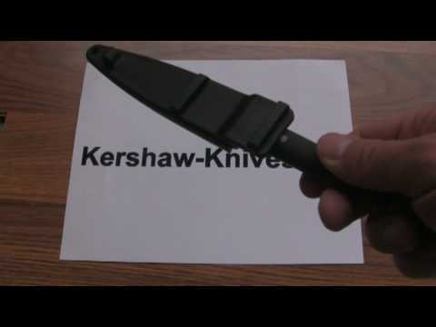 Kershaw Military Boot Knife 4351 Demonstration