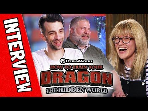 Jay Baruchel (Hiccup) & Dean DeBlois: How To Train Your Dragon: The Hidden World
