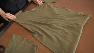 Download How to Cut Your Men's T-Shirt : Sewing & Reconstructing T Shirts 3Gp Mp4