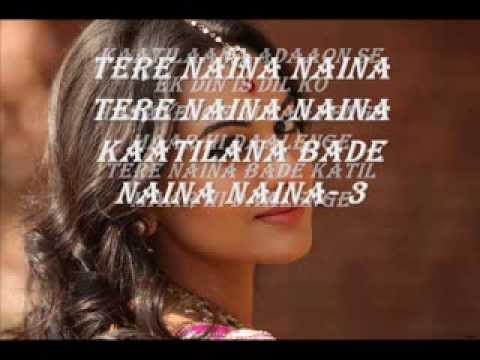Tere Naina Jai Ho Full Song Lyrics | 2014 video