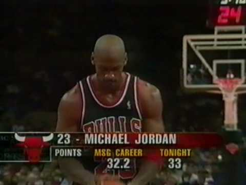 MICHAEL JORDAN: 42 pts vs New York Knicks (1998.03.08) HD
