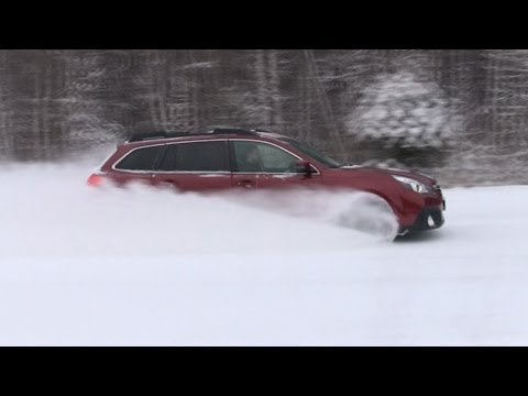 Subaru Outback 2014 - Снежный демон (трейлер обзора)