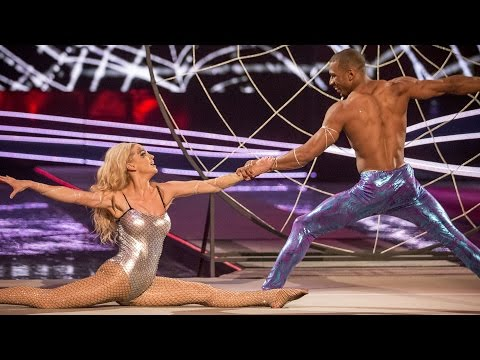Sarah Harding & Leon Fagbemi's performance to 'Don't Let Go' - Tumble: Semi-Final - BBC One