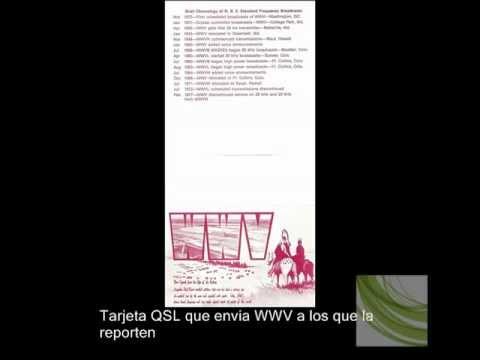 Emisoras de señal horarias WWVH y WWV