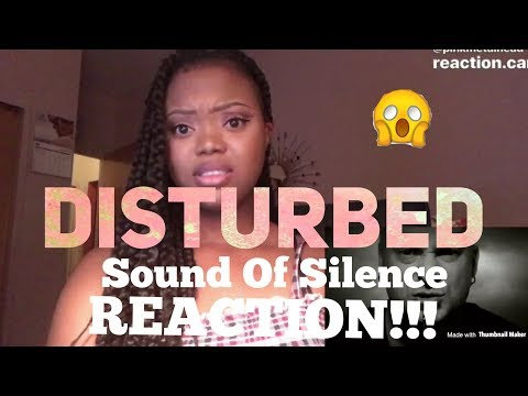 Disturbed- Sound Of Silence REACTION!!!