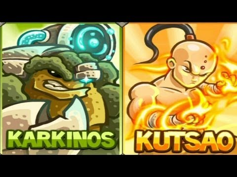 2 New Kingdom Rush Heroes!