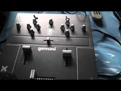Gemini PMX-02 2 channel+1mic mixer