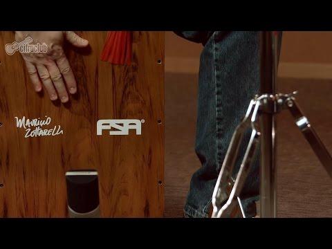 Como tocar Cajón | Técnicas de bateria por Maurício Zottarelli