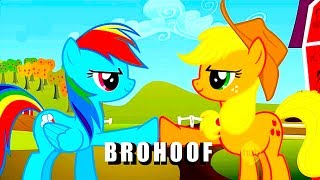 BRONY Vs PEGASISTER - My Little Pony FAN-WAR!