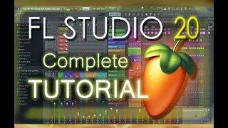 FL Studio 20 - Tutorial for Beginners [COMPLETE] in 16 MINUTES!