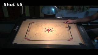 100 Carrom shots for a dynamic game and 10 Slams -  Part 1