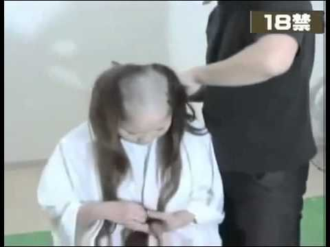 Girl Headshave 24 video