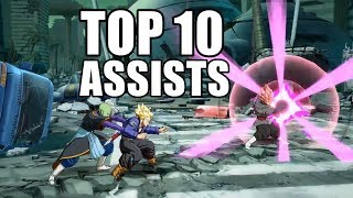 Top 10 Strongest Assists in Dragon Ball FighterZ!!!