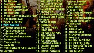 Ouça Lord Of The Rings - Soundtrack Complete with links
