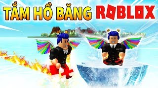 Roblox - TỐC ĐỘ THE FLASH SỨC MẠNH SUPERMAN TẮM HỒ BĂNG - 💥 Super Power Training Simulator