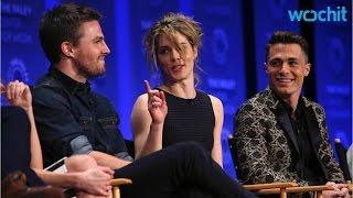 Emily Bett Rickards Made Stephen Amell Laugh During Arrow Sex Scene