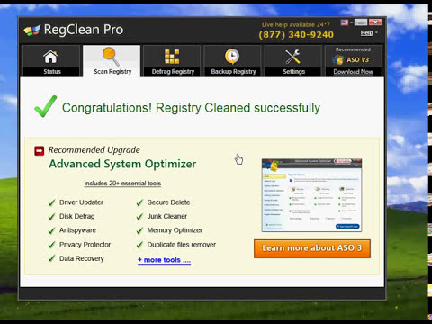 unomass tutorial how to use regisrty clean pro paid software