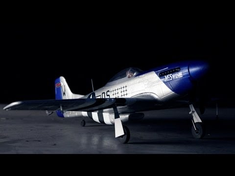 Dynam P-51D 762mm Mustang RC Warbird Plane Review