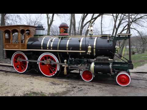 York 17 Steam Locomotive Unload April 15, 2013