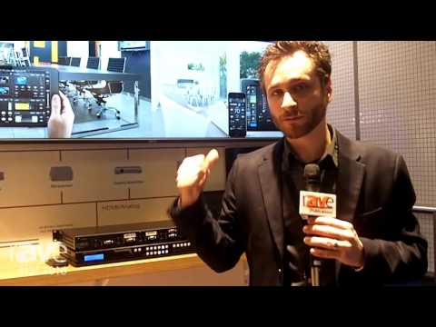 ISE 2016: Key Digital Shows the KD-MLV4x2 MultiView Seamless Matrix Switcher