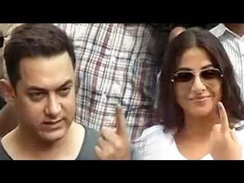 Aamir, Vidya, SRK, Bachchans cast their vote today