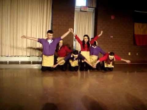 Indonesian Folk Dance And Modern Finish video