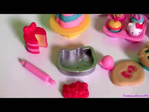 Play Doh Hello Kitty XOXO Baking Fun Set Donuts Patisserie  キャラクター練り切り ハローキティ  Sanrio Dough