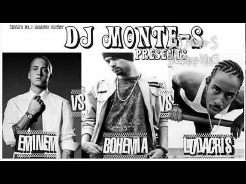 *NEW 2012* Eminem Vs Bohemia Vs Ludacris Mashup - King of Rap...