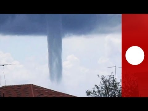 Watch: Giant waterspout twisting and vanishing off Italian coast