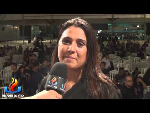 UMADEB 2013   Dia 10 02   Entrevista cantora Daniele Cristina