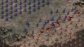 300 SPARTANS vs 10,000 PERSIANS - Age Of Empires: Definitive Edition