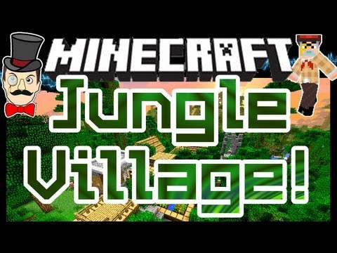 Minecraft Mods - JUNGLE VILLAGE ! Ocean Towns & More Mod !